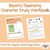 Bloom's Taxonomy Character Study Workbook