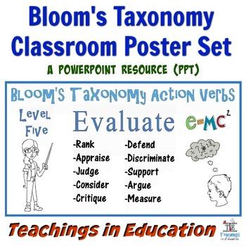 Bloom's Taxonomy (Poster Set)