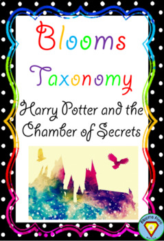 Bloom's Taxonomy Harry Potter and the Chamber of Secrets Activities