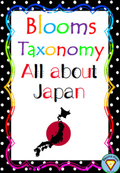 Bloom's Taxonomy: Japan Activities