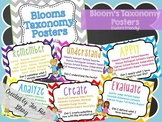 Bloom's Taxonomy Posters (Student Friendly!) English & Spanish