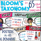 Bloom's Taxonomy & Common Core Verb Posters for Higher Level Thinking {65 Verbs}