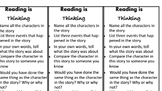 Bloom's Taxonomy Question Bookmarks