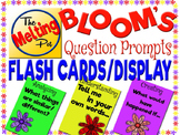 Bloom's Taxonomy Question Prompt Flash Cards and Display
