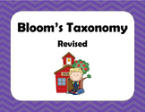 Bloom's Taxonomy Revised Wall Posters