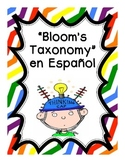 Bloom's Taxonomy Spanish