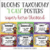 "Bloom's Taxonomy ""I Can"" Posters"
