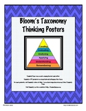 Bloom's Taxonomy Thinking Posters