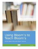 Bloom's Taxonomy Activity Sheet