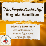 """Bloom's Taxonomy for """"The People Could Fly"""" – Virginia Hamilton"""