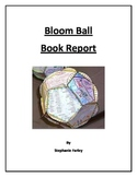 Bloomball Book Report - Fits Common Core!