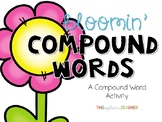 Bloomin' Compound Words Freebie