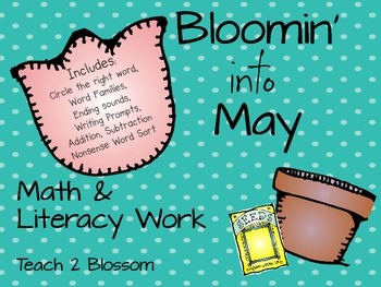 Bloomin' Into May: Math and Literacy for Kindergarten