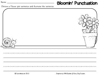 Bloomin' Punctuation