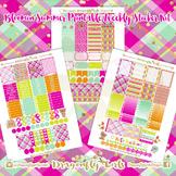 Bloomin Summer Printable Planner Stickers Weekly Kit