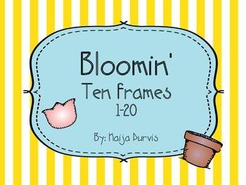 Bloomin' Ten Frames