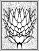 Blooming Art - Templates, Reference, and Coloring Sheets