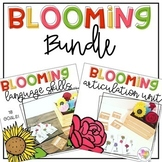 Blooming Speech and Language Therapy Bundle