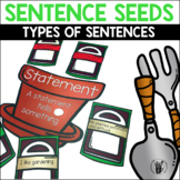 Sentence Seeds Center Game