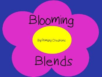 Blooming Blends Word Sort