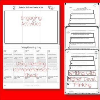 Book Report templates based on Bloom's Taxonomy