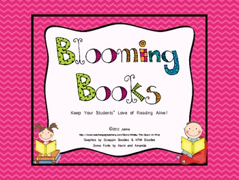 Blooming Books {A Reading Incentive}