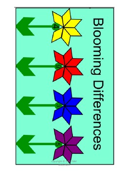 Blooming Differences-Practicing Subtraction facts