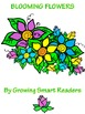 Blooming Flowers Clip Art