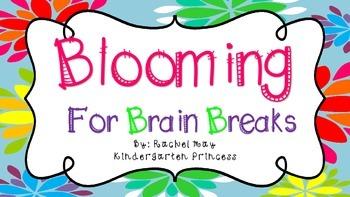 Blooming For Brain Breaks