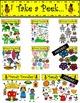 Blooming Garden Clip Art by Dandy Doodles