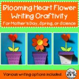 Blooming Heart Flower Writing Craftivity