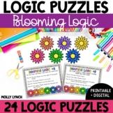 Blooming Logic Problem Solving {Logic Puzzles}