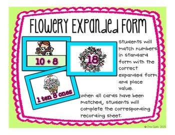 Blooming May Math! {5 Sunny Day CCSS Aligned Math Tub Activities}