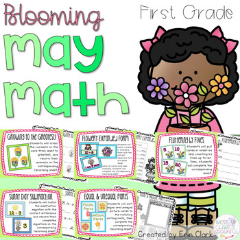 Spring/May Themed Math Centers