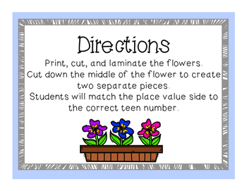 Blooming Place Value {Free}