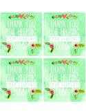 Blooming Teacher Appreciation Tags
