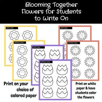 Blooming Together Spring Bulletin Board Set