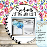 Blooming With Kindness Writing and Craft
