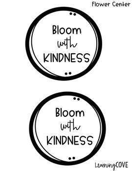 Blooming with Kindness Craftivity!