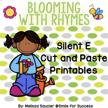 Blooming with Rhymes {Silent E Worksheets}