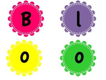 Blooming With Word Families For Word Wall or Bulletin Board
