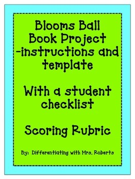 Blooms Ball Book Project
