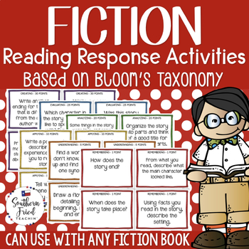 Bloom's Fiction Reading Activities with Critical Thinking