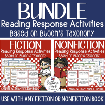 Bloom's Fiction & Nonfiction Reading Activities with Critical Thinking