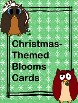 Blooms Christmas-Themed Cards