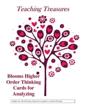 Blooms Higher Level Questioning Cards for Analyzing