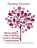 Blooms Higher Level Questioning Cards for Reading Comprehension