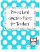 Blooms Level Question Stems
