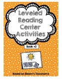 Leveled Reading Center Activities Book 3