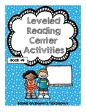 Leveled Reading Centers Activities Booklet 4